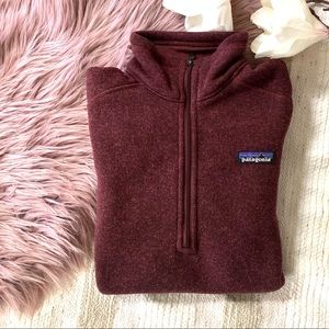 PATAGONIA▪️Chicory Red 1/4 Better Sweater. S